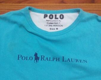 Polo Ralph Lauren sweatshirt vintage pop art Polo bear rare