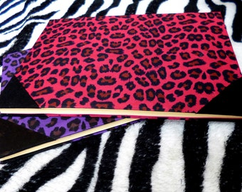 Leopard agenda crafted by hand