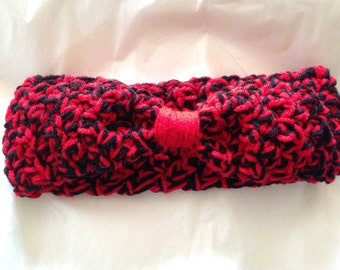 Red & Black Headband