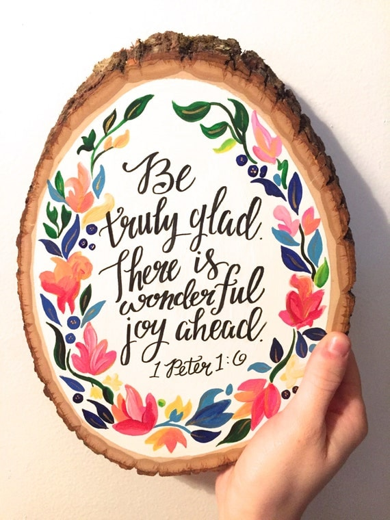 bible verse about painting inspirational bible verse wood slice 1 1 6 10463