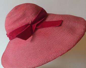 Dovedown 1940's women sun hat