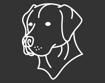 Labrador Retriever Decal Sticker GD123