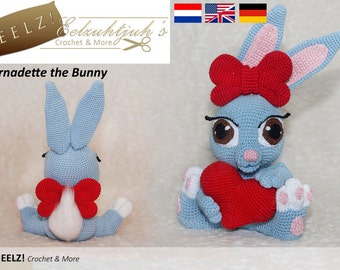 Bernadette the Bunny - Crochet Pattern