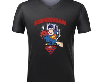 Old School Superman Comic T-Shirt