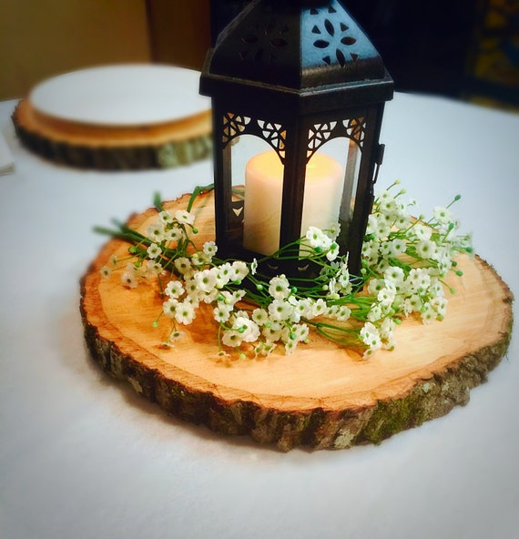 Nice Set Of 12! Wood Slices, Table Centerpieces, Tree Slabs, Tree Slices, Rustic  Wedding Centerpieces. Centerpiece Table Decor!