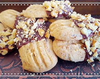 Mocha Logs Cookies (18 Cookies)