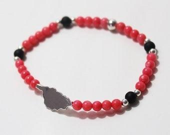 Bracelet Island Corsica & beads