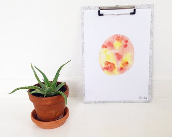 Watercolor print · Astrid ·