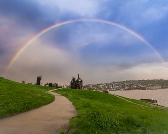 Gas Works Rainbow landscape photography print
