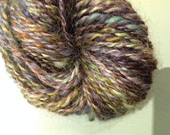 Handspun yarn. Wool. 2 ply.