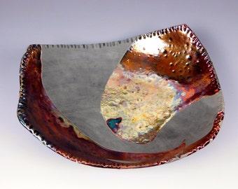 Raku bowl #17