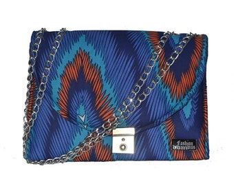 Fashion Ankara Hand Bag - Multi-Color