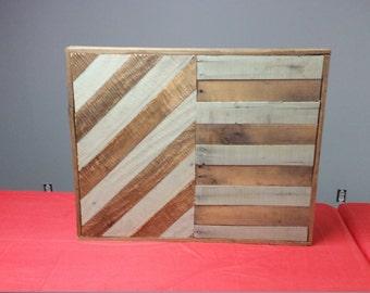 100 % reclaimed wood art