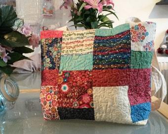Patchwork Tote bag.