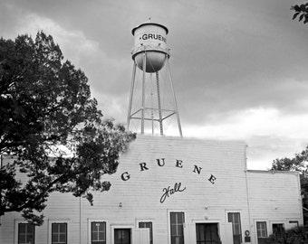 Original 16x20 Photo on Canvas ~ Gruene Hall - Gruene, Texas
