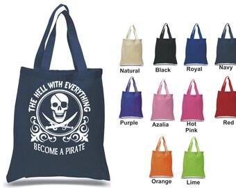 Pirate Tote bag 100% cotton
