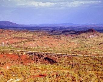 Train On Barlows Bridge