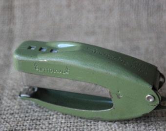 Vintage Swingline Cub Plier, Green, Swingline Stapler, #556