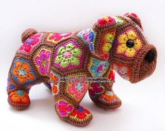 African Flower Puppy