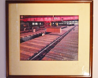 Industrial copper manufacturing facility photograph
