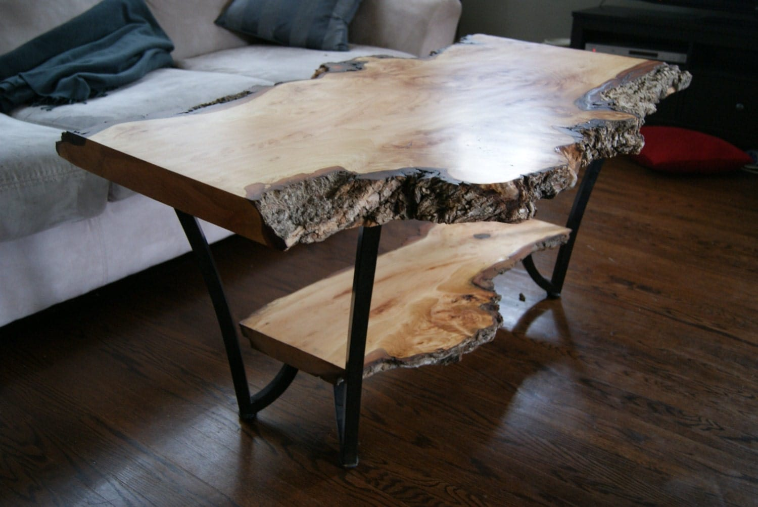 natural edge willow table top only live edge. Black Bedroom Furniture Sets. Home Design Ideas