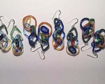 Party Girl Link Earrings