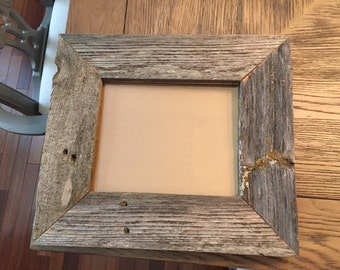 "Reclaimed Wood Picture Frame 8"" x 10"""