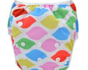 Reusable Swimming Nappies/Diapers - Multi