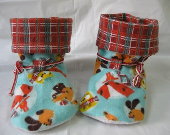 """Slippers, size 4 - 4.5 (4.75 """"-11.7 cm)"""