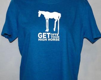 High Horse - Horse lover's T-shirt