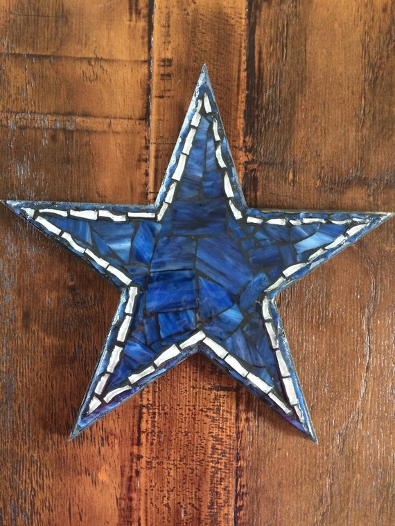 Blue Star Wall Decor : Dallas cowboy star wall hanging cowboys the by