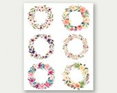 CUSTOM Quote Print, Custom Quote Art, Custom Floral Art, Custom Flower Printable, Personalized Floral Poster, Personalized Flower Wall Art