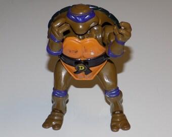 Vintage 1992 Teenage Mutant Ninja Turtles Action Figure - Mutatin' Donatello
