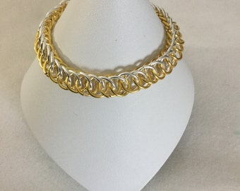 Chainmaille half Persian 4 in 1 bracelet