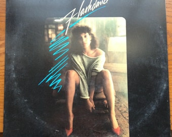 "Flashdance vintage vinyl record- ""Flashdance"" original motion picture soundtrack, She's a Maniac, classic rock soundtrack, pop rock albums"
