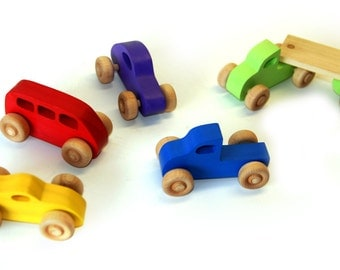 Five Car Play Set