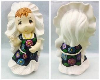 Oaxaca Ceramic Doll
