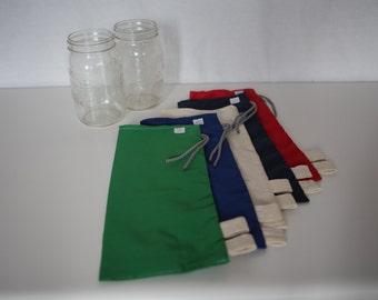 Bags in bulk 2 L - bags for buying food in bulk - reusable bag