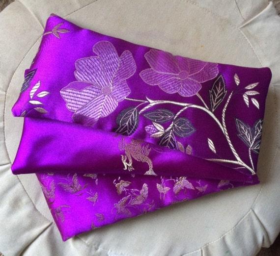 Lavender Animal Eye Pillows : Satin Lavender Eye Pillow by YoginiWitch on Etsy