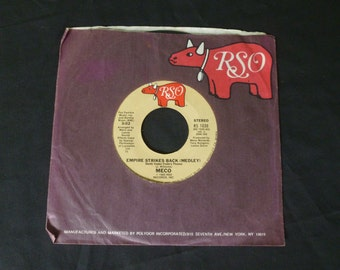 RSO RS 1038 Empire Strikes Back The Force Theme 1980
