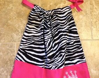 Pink Princess Pillowcase Dress