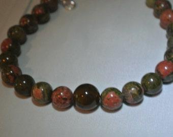 8 in jasper bracelet