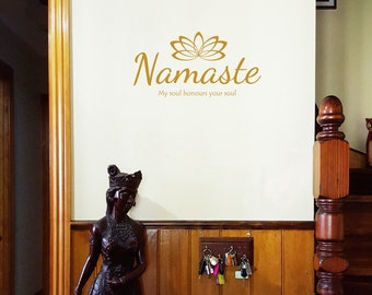 Namaste Vinyl Wall Decal