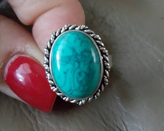 Turquoise Ring- size 8!