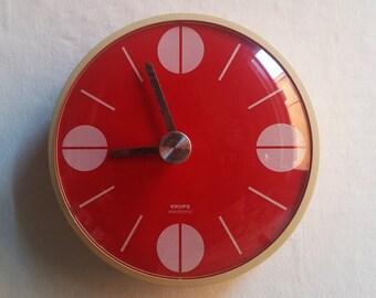 Wall clock Krups Chron of 1971
