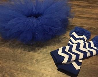 Royal blue Leg warmers infant baby toddler
