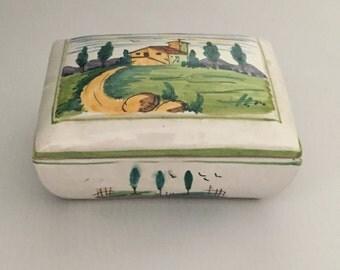 Ceramic Box Florence Italy