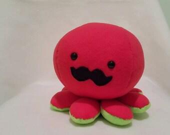Mustaopus [Mustache Octopus Plush]