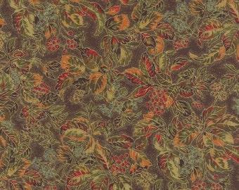 Autumn Elegance - Cocoa 33111 11 - Cotton - Quilting Fabric - Moda Fabrics - Material - Holiday Decor