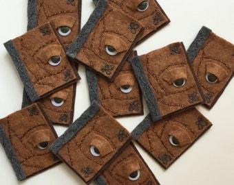 Hocus Pocus Spell Book Inspired Headband/ Hairclip/ Brooch